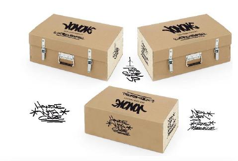 Caisses wrap bois carton