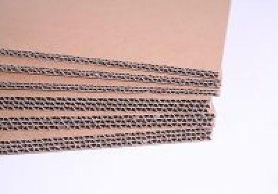 Plaques carton simple, double, triple cannelure