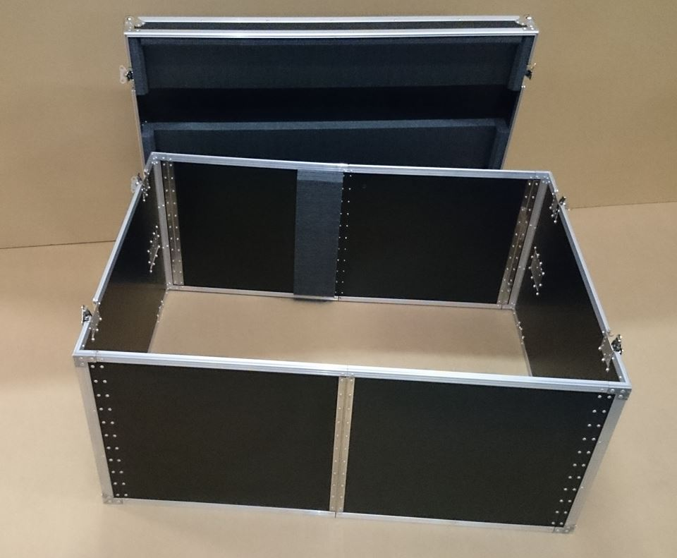 Flight case pliable