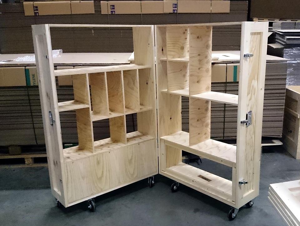 Structure caisse bois